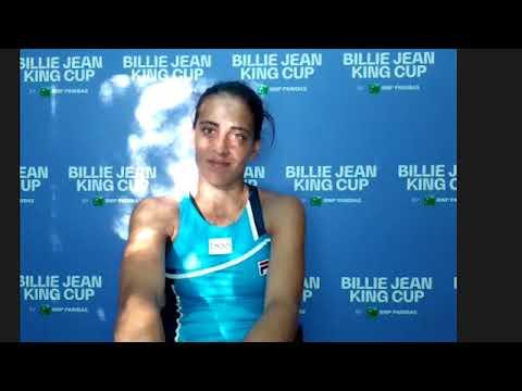 Lourdes Carlé  - Billie Jean King Cup - Play-offs Argentina / Kazakhstan Credit: AAT