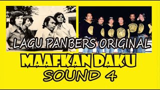 Maafkan Daku   LAGU PANBERS ORIGINAL   ALBUM SOUND 4