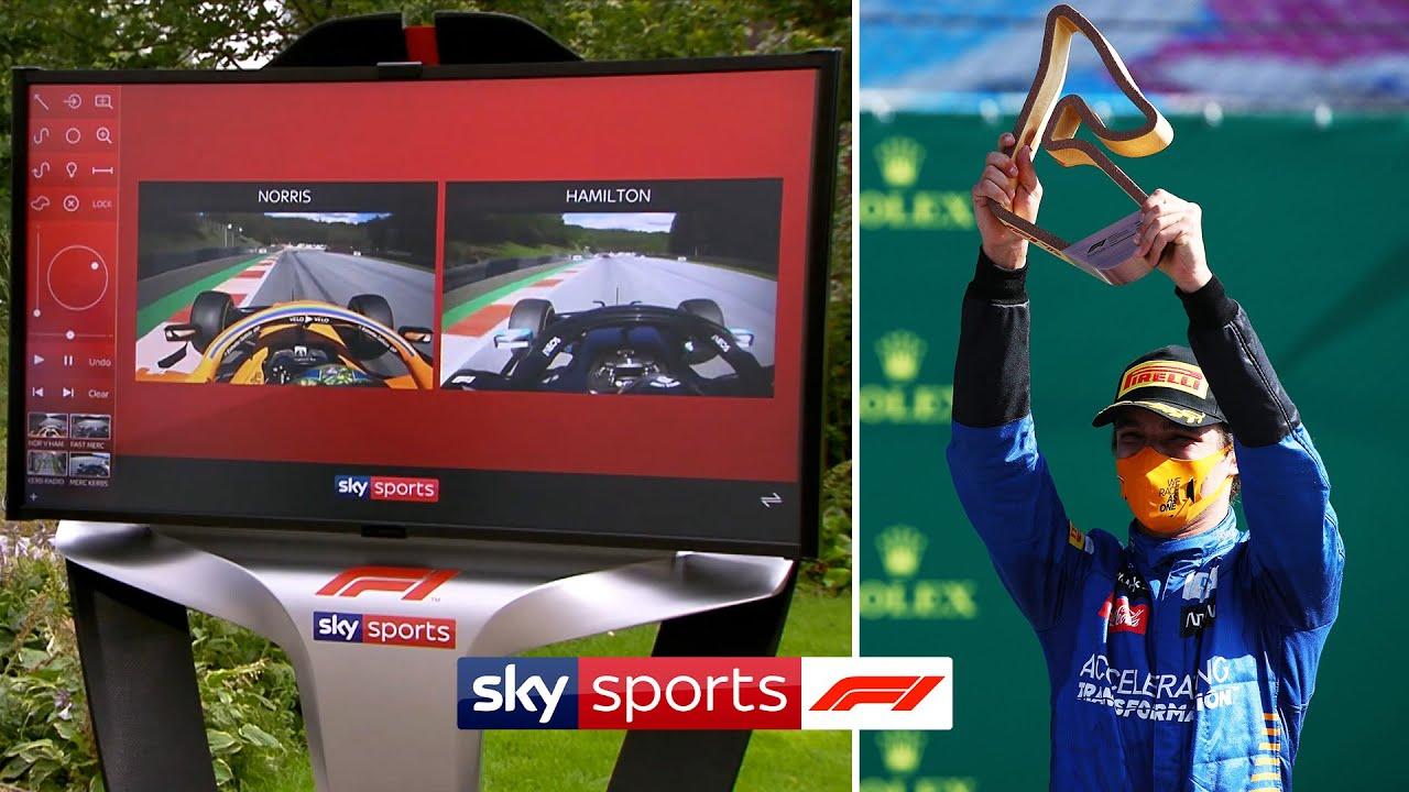 Revealed: How Lando Norris caught Lewis Hamilton!   Austrian GP Final Lap   Skypad