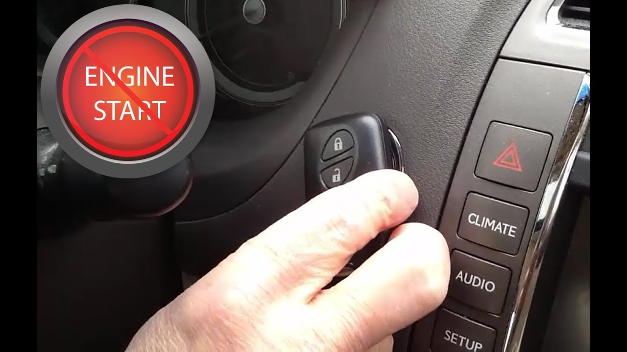 Starting A Push On Start Car With Dead Key Fob Or Smart Battery