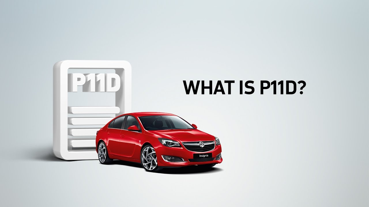 What Is P11d Vauxhall