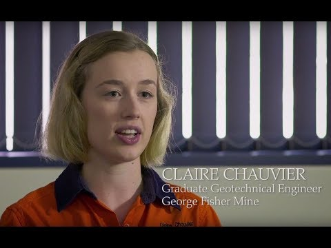 Meet Claire - one of our Glencore Graduates