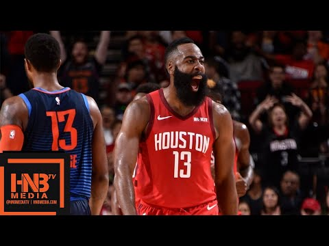 Houston Rockets vs OKC Thunder Full Game Highlights | 12/25/2018 NBA Season