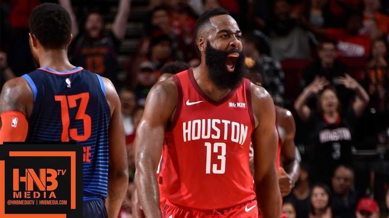2a0294b0ba1 Houston Rockets vs OKC Thunder Full Game Highlights