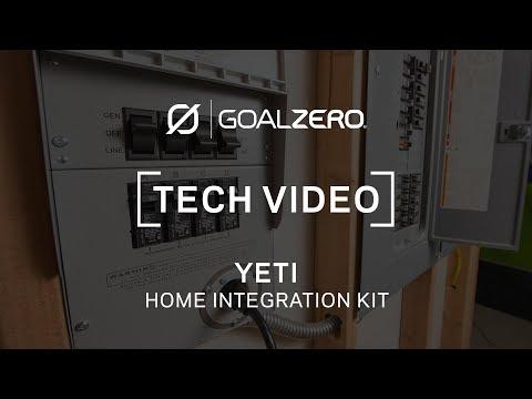 Goal Zero Home Integration Kit | Tech Video