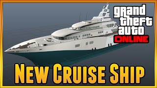 Gta 5 PC - NEW Brand New BIG BOAT ,CJ's Boat , Possible Dlc Items, New Vehicle