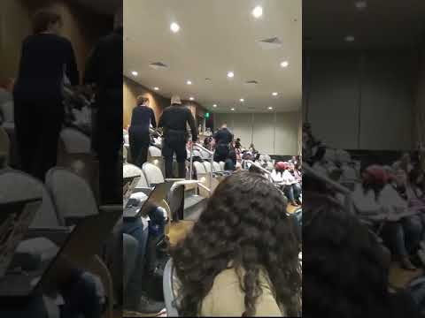 Anjali Queen B - Professor Calls Police On Black Student For Having Her Feet Up In Class
