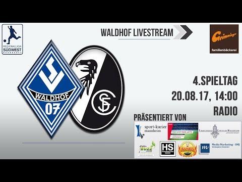 4.Spieltag: SV Waldhof - SC Freiburg II (Radio)