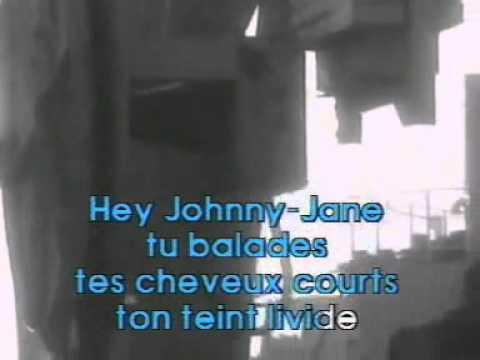 la ballade de Johnny Jane SERGE GAINSBOURG karaoke