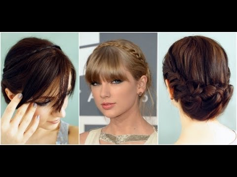 Taylor Swift Grammys 2013 Hair & Makeup