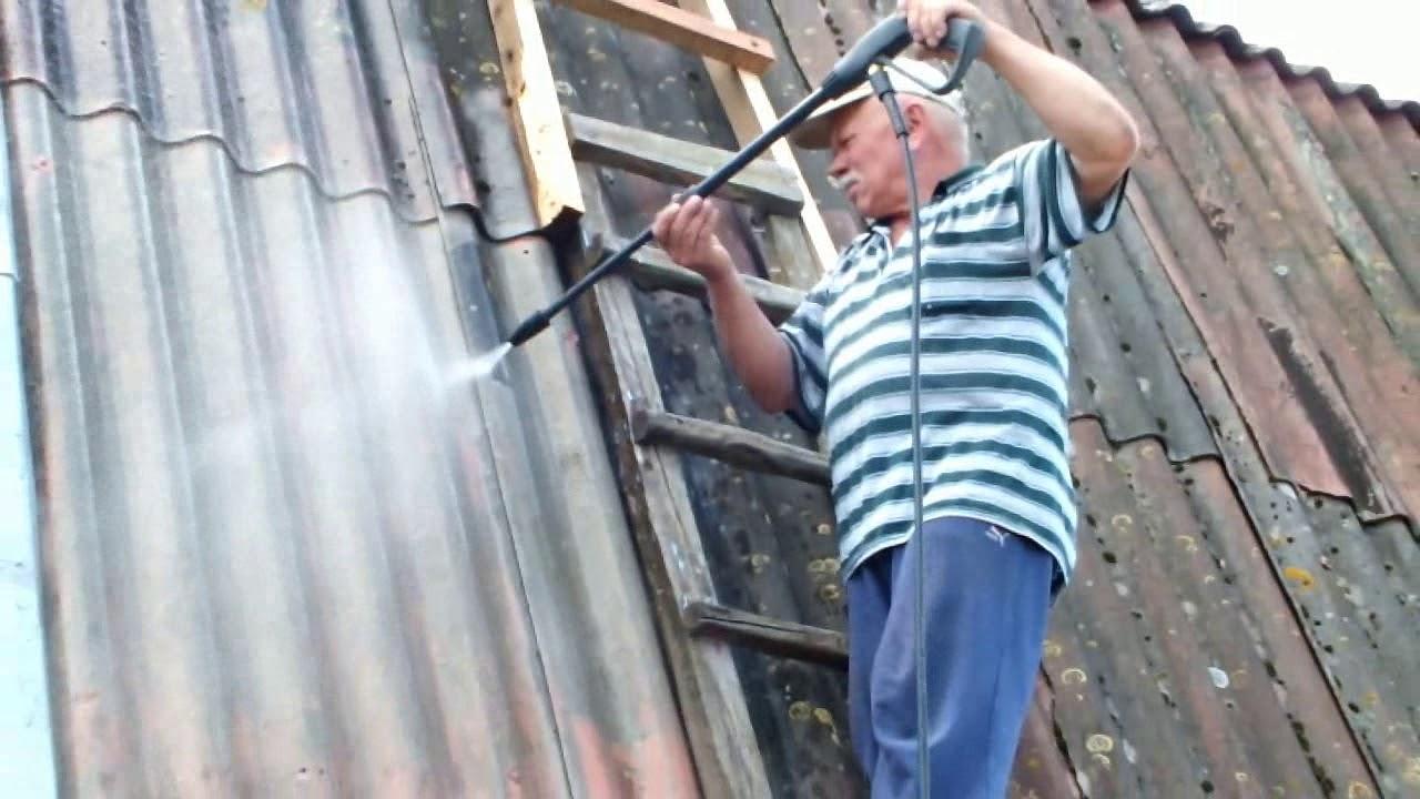 Мойка крыши/ Roof washing