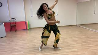 """Импровизация. Восточно-цыганский стиль. Школа восточного и цыганского танца """"Экспромт"""" СПб."""