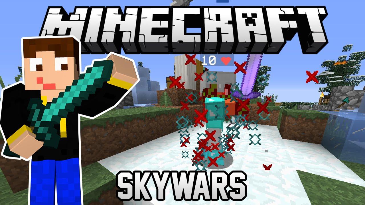 Skywars Geiles Spiel Lets Play Minecraft PVP YouTube - Minecraft pvp spiele