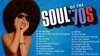 The 100 Greatest Soul Songs of the 70s | Unforgettable Soul Music Full Playlist