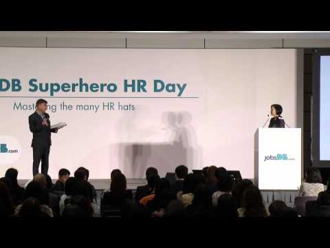 jobsDB Superhero HR Day 2015 - Ms. Christine Cheung