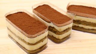 [홈베이킹] 부드러운 티라미수 보틀 케이크 : Soft…