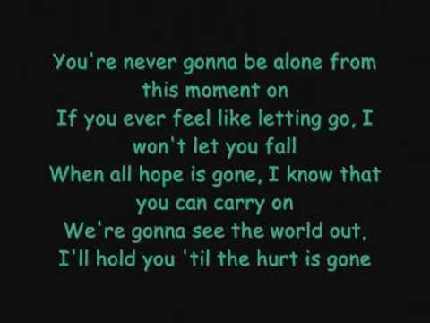 Never Goona Be Alone By Nickleback With Lyrices Enjoy Youtube