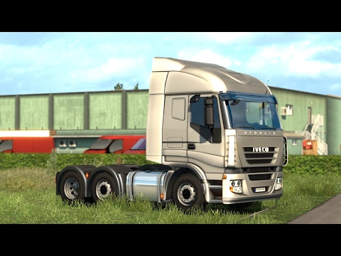 ETS 2 - Vive la France DLC - Trailer Pick up from Le Mans |