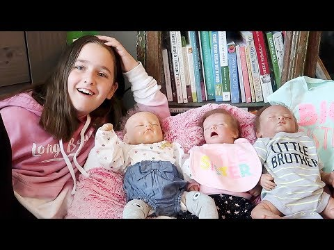 Getting Reborns Ready for Big Sister Reborn Toddler to Arrive