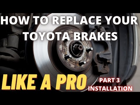 Toyota Brakes and Rotors DIY Master Class Part 3 Reassembly and Rear Brakes