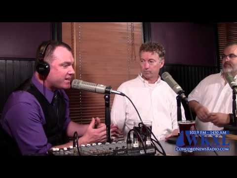 Rand Paul Interview On Campaign Issues   New Hampshire