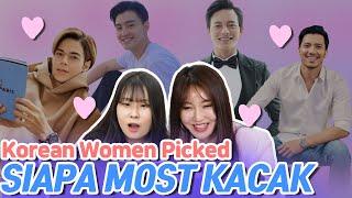 Korean women pick their type among 6 Malaysian Actors|Blimey