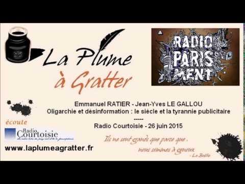 Jean-Yves Le Gallou et Emmanuel Ratier : l'Oligarchie et la désinformation (26 juin 2015)