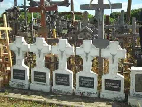 Hill of crosses overview