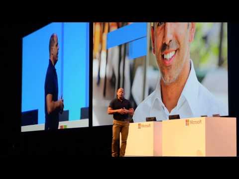 Brad Anderson, Microsoft VP talking at TechEd 2013 Europe keynote