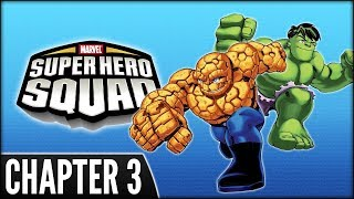 Marvel Super Hero Squad (PS2) - Chapter 3: This Hunger, This Hulk !
