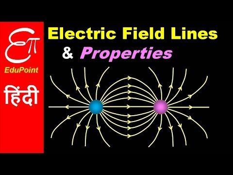 Electric Field Lines and Properties | video in HINDI