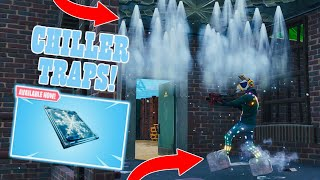 FORTNITE *NEW* CHILLER FREEZE TRAPS GAMEPLAY! FIRST UPDATE OF SEASON 6! (FORTNITE)