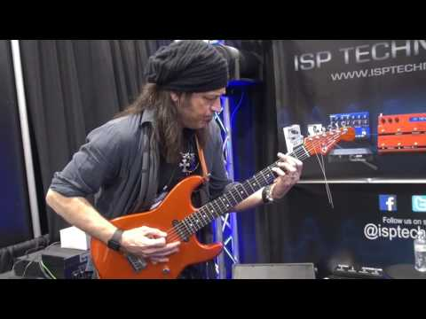 Michael Sweet (STRYPER)@NAMM2017 ISP Technologies