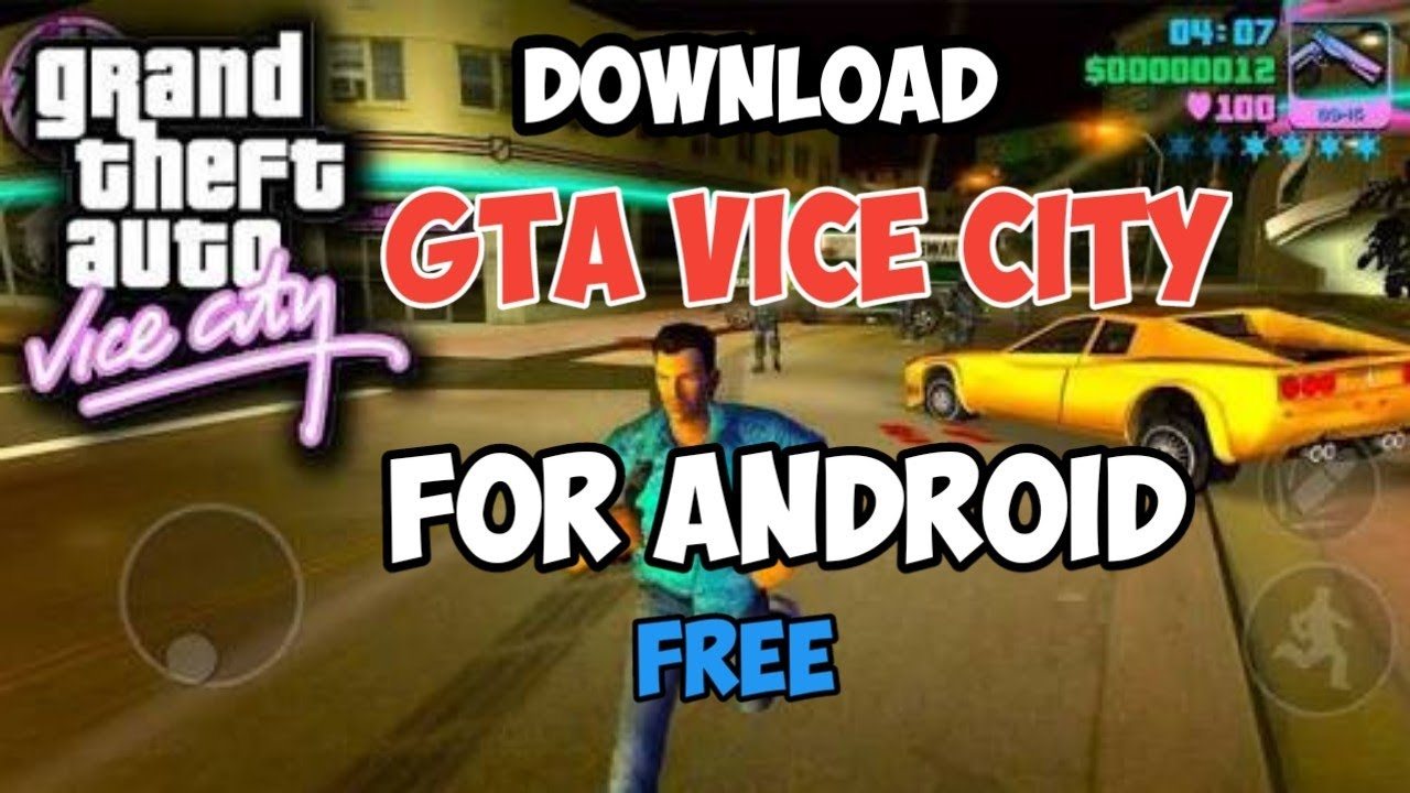 GTA VICE CITY GAME FOR ANDROID ||How to install vice city on Android  mobile||download gta vice city
