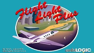 Flight Light gameplay (PC Game, 1996)