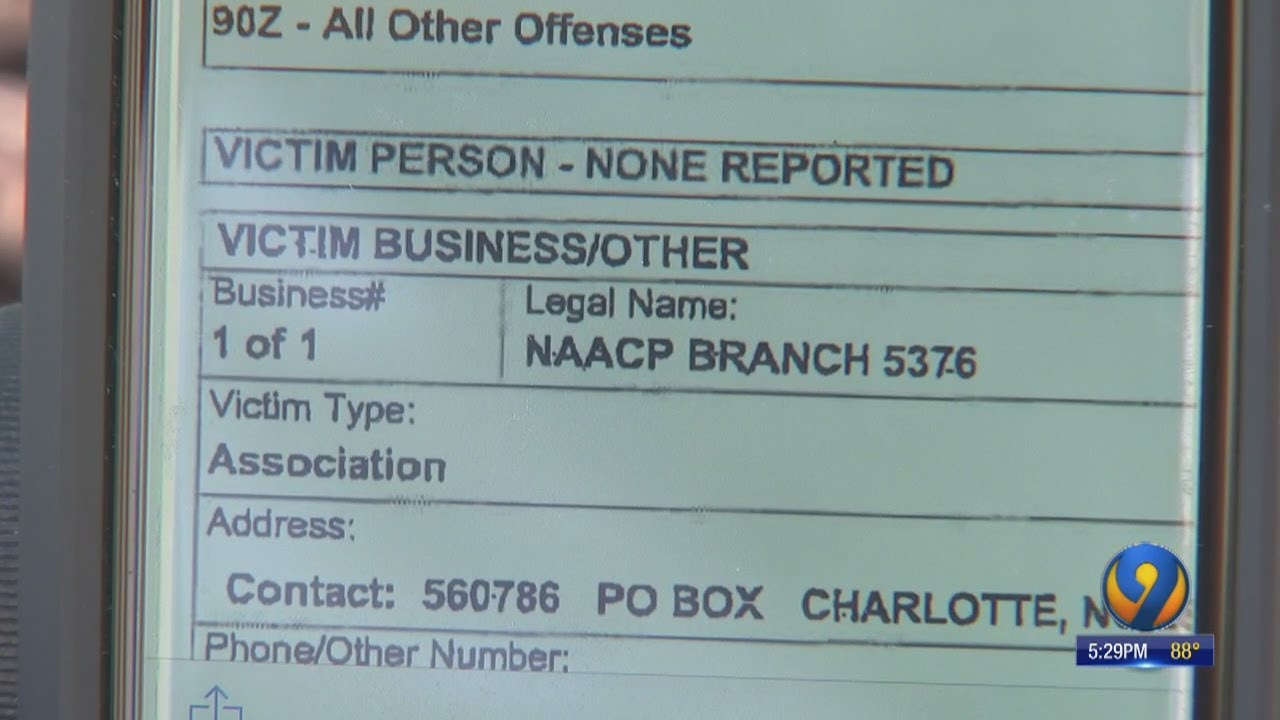 Charlotte NAACP says scammer is using group's name to collect membership fees