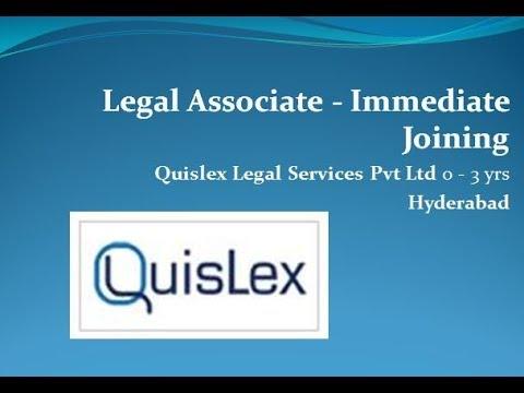 BPO job in hyderabad QuisLex Company