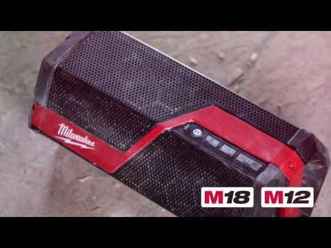 Milwaukee M18/M12/AC Wireless Jobsite Speaker