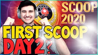 PLAYING THE $2,000,000 Pokerstars SCOOP event!🙏