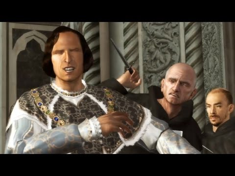 Pazzi Conspiracy: Ezio and Templar's Plot to Kill Lorenzo Medici (Assassin's Creed 2 | Story Movie)