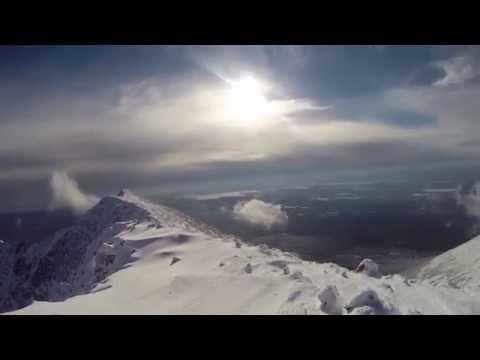 DMOutdoors: Mt. Katahdin Summit in Winter