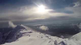 DMOutdoors: Mt. Katahdin Summit in Winter