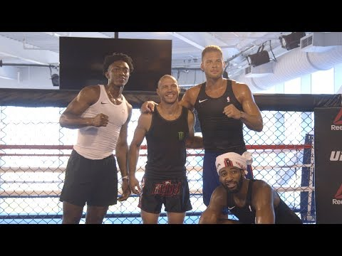 UFC Performance Institute Hosts NBA Teams