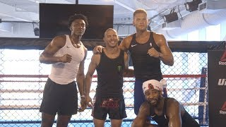 UFC Performance Institute Hosts NBA Teams