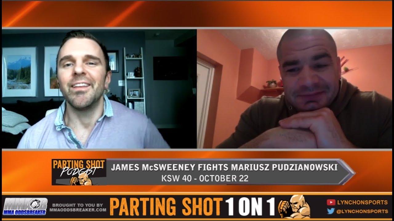 KSW 40's James McSweeney talks Mariusz Pudzianowski fight, health issues and RIZIN