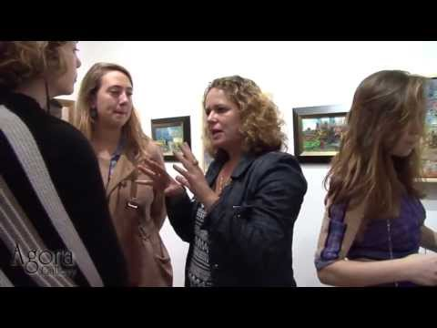 Agora Gallery, Chelsea, NYC, Art Gallery Video. Opening Reception October 10th, 2013