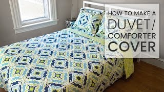 Video How to Make a Duvet Cover download MP3, 3GP, MP4, WEBM, AVI, FLV Agustus 2018