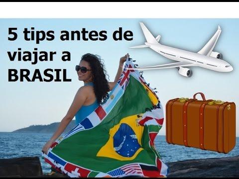 5 cosas que debes saber para viajar a Brasil