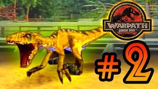 Jumpy Raptor || Warpath Jurassic Park (PS1) Ep 2 [ Jurassic Park Month ]