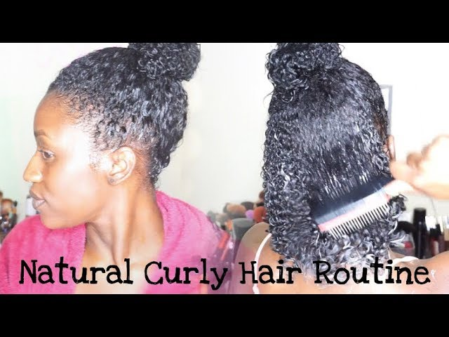 Natural Curly Hair Routine ft Plentiful